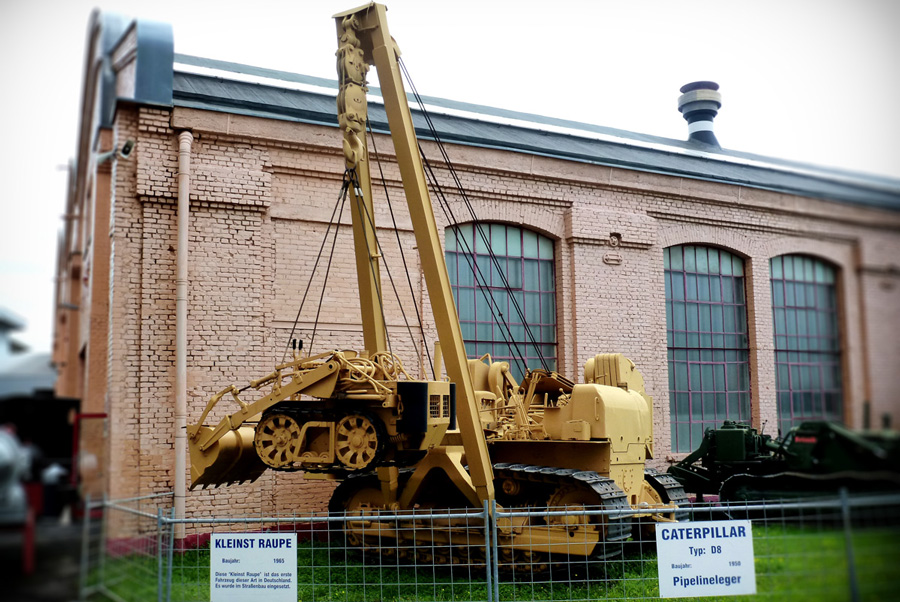 Technik Museum Speyer Old CAT Dozer