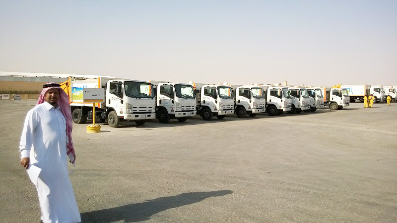 Waste Trucks with MOBA RFID